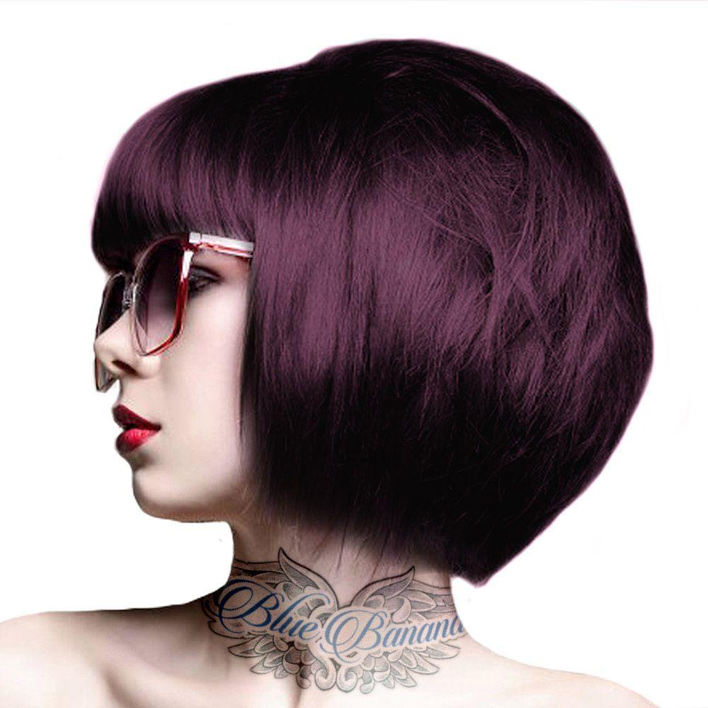 Crazy Color Semi Permanent Hair Dye 100ml Aubergine Semi