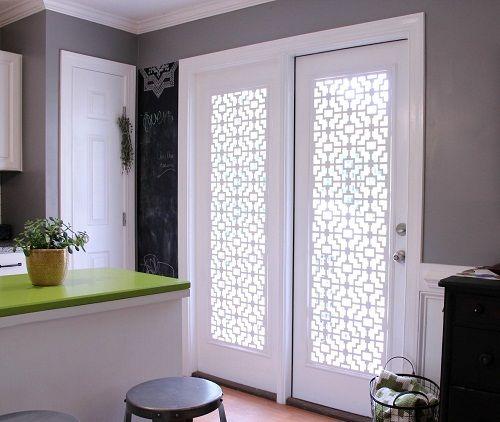 Window Treatments For French Doors Ideas Home Door