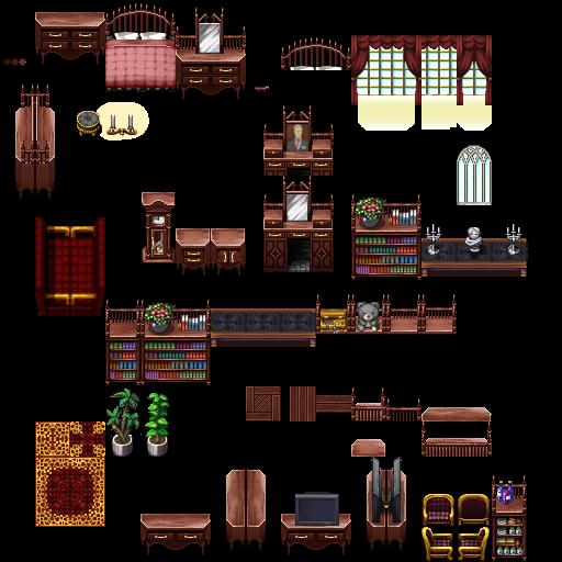 Sherman3D: Steampunk Arena Tiles for RPG Maker MV and MZ