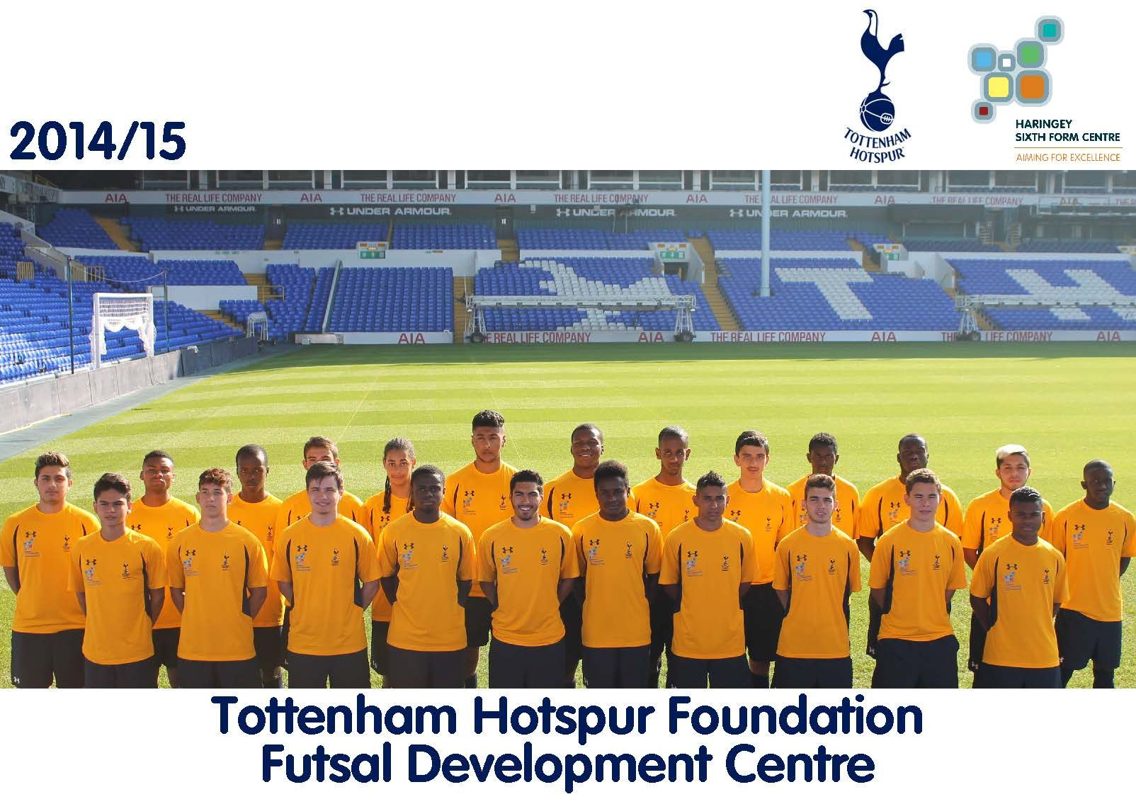 Tottenham Hotspur Foundation Futsal Development Centre | Haringey Sixth Form Centre