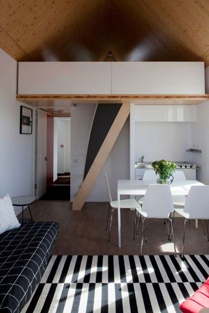 Small Room Ideas Small Spaces One Bedroom Flat Tiny House Design