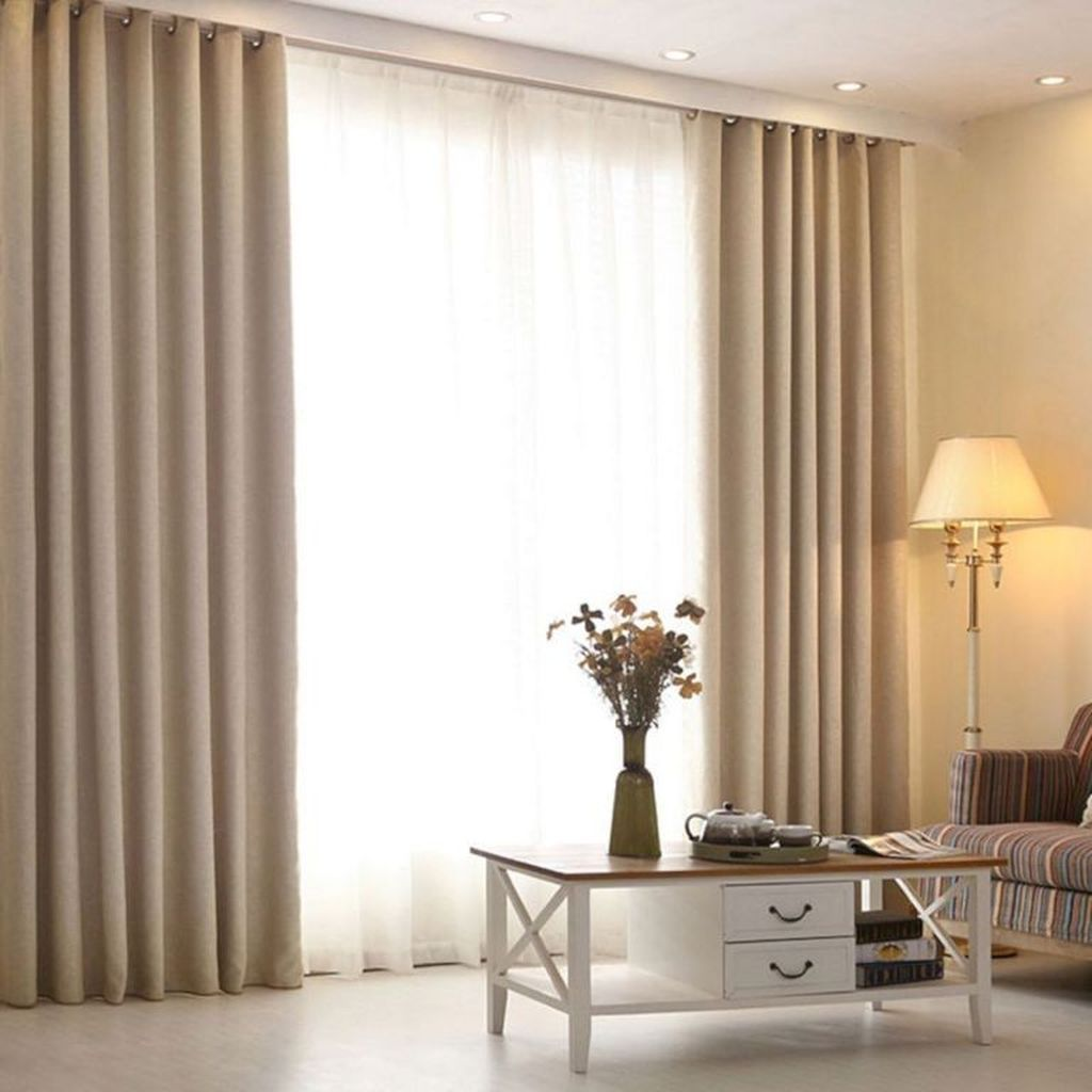 10+ Stunning Pretty Living Room Curtains