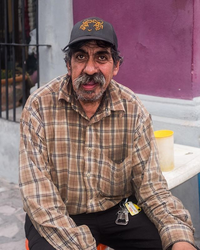This is a street portrait from my trip to Monterrey. Its a cool city ... 4b87e5846bc4