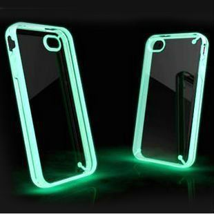 Luminous Glow In The Dark Hard protective Case For Apple iPhone 4 4s