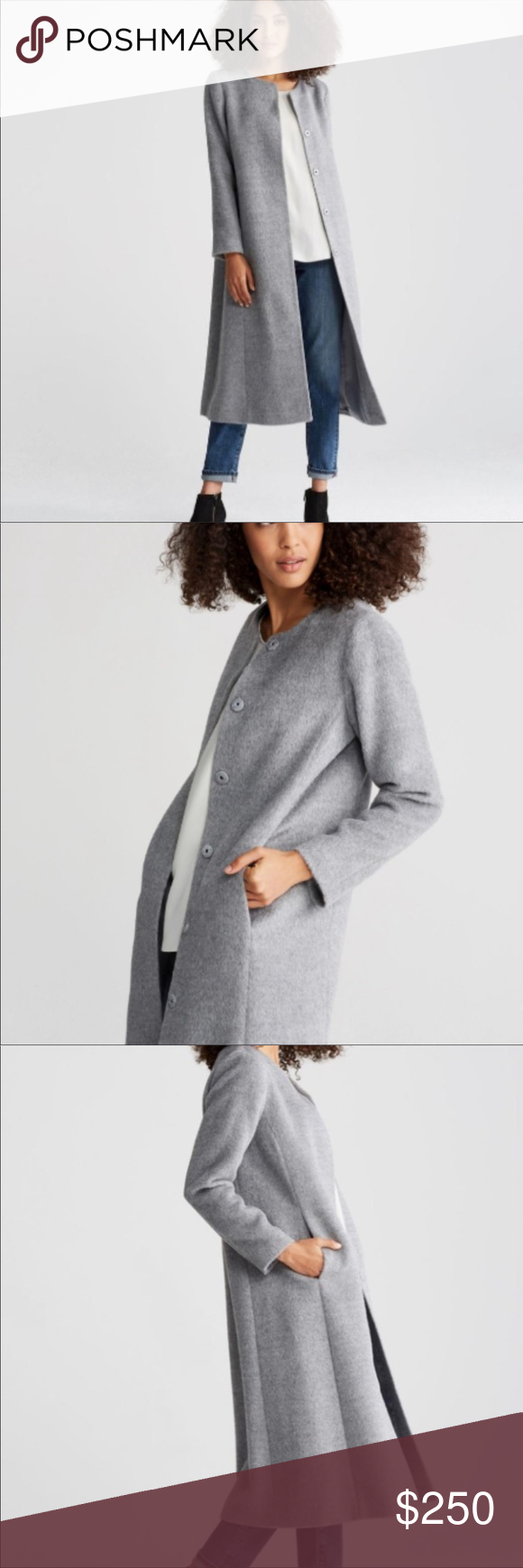 Eileen Fisher Alpaca Wool Suri Coat Xs Fit S M Eileen Fisher Coat Fit S [ 1740 x 580 Pixel ]