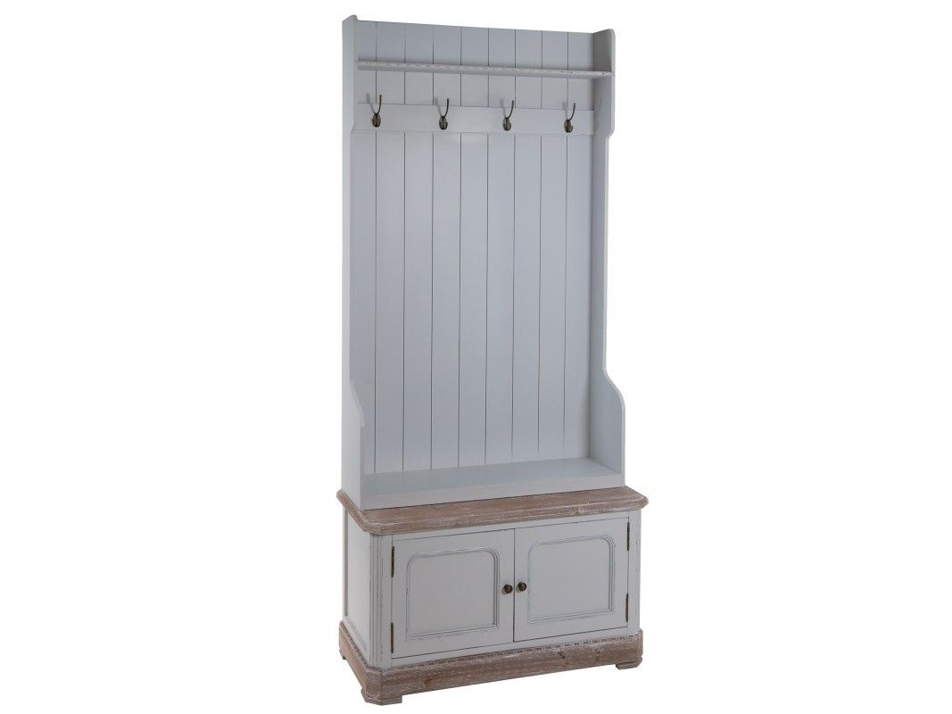 Mueble Perchero Vintage Recibidor Sweet Home Collection Daphne