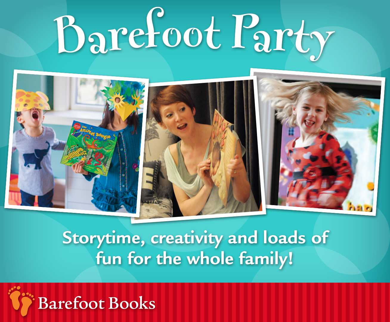 image for barefoot family party. | barefoot booksrachel (new