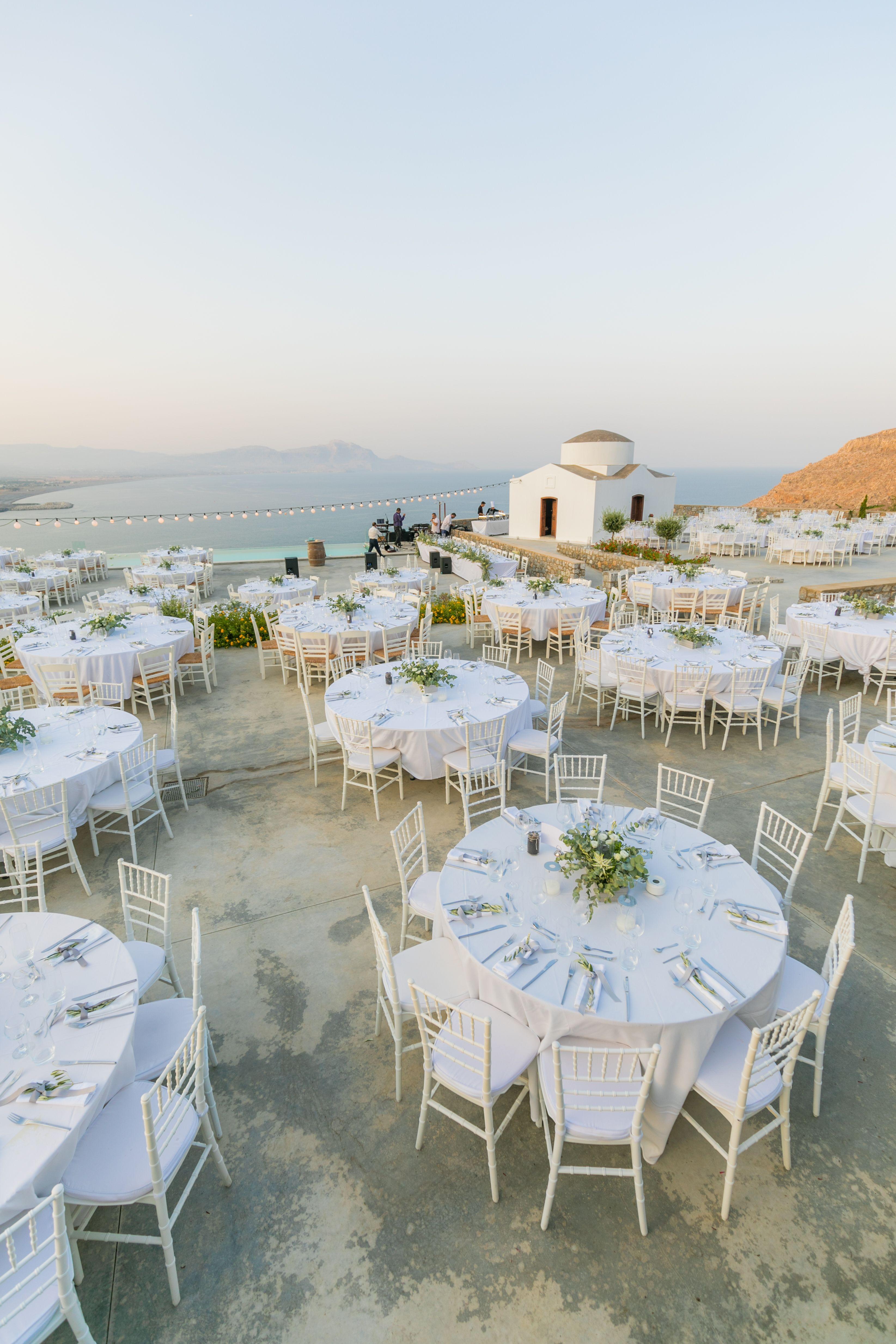 Wedding venue, greek wedding, sea view, outdoor venue ...