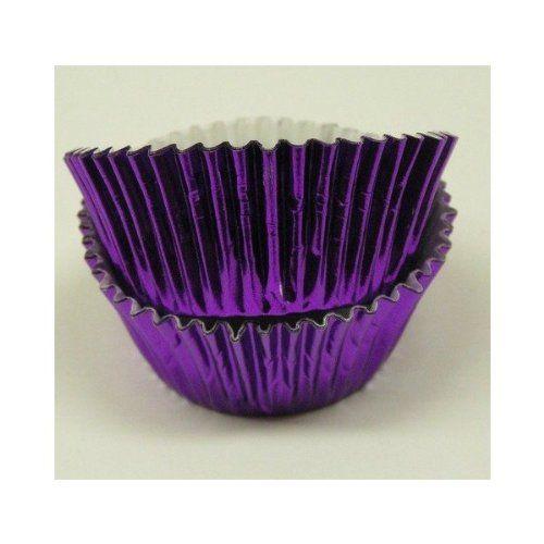 Purple Foil Cupcake Muffin Baking Cups 50 count Jubilee Sweet Arts http://www.amazon.com/dp/B00DEF1552/ref=cm_sw_r_pi_dp_7TWItb0Z3R23G92X