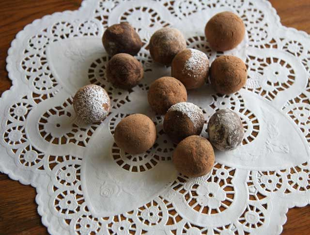 Chocolate truffles for your luuuv