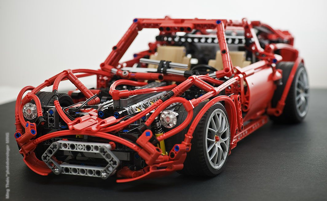 lego technic ferrari 250 gto a lego creation by ming thein lego technic. Black Bedroom Furniture Sets. Home Design Ideas