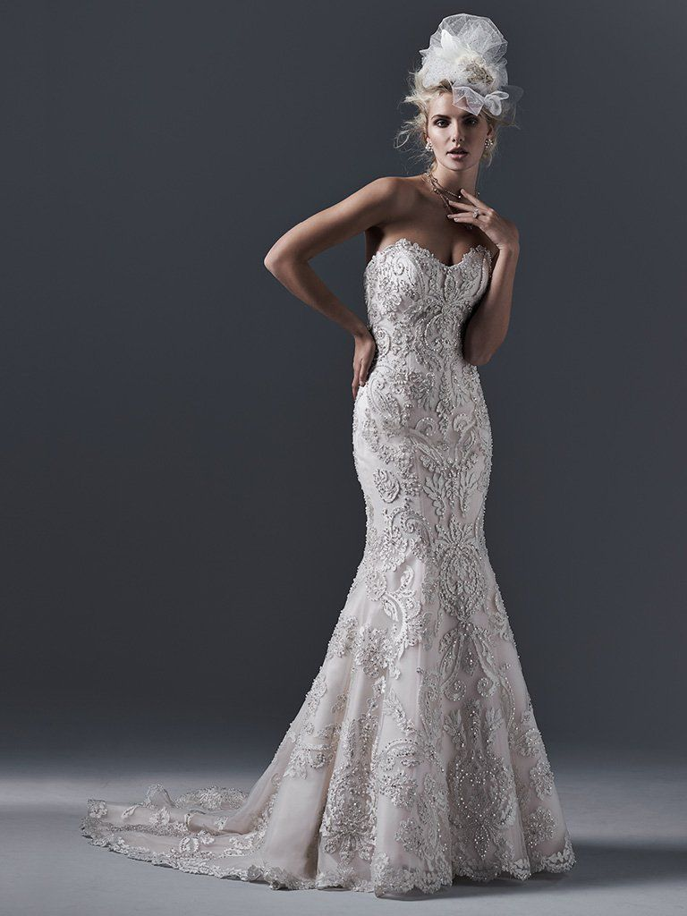 Zinnia Wedding Dress by Maggie Sottero | Sottero and Midgley wedding ...
