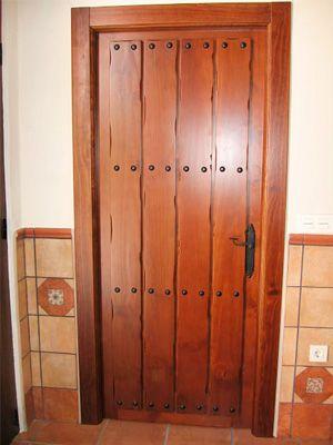 Puertas interiores clavos para cocinas rusticas o para - Lo ultimo en puertas de interior ...