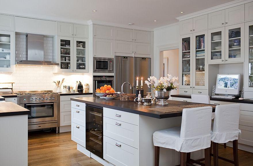 Stockholm Vitt   Interior Design: New England Styled Home
