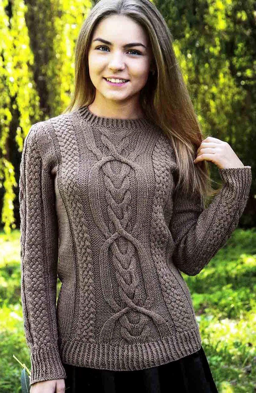 Contraste de punto para mujer alegre Trespass Sweater con Capucha
