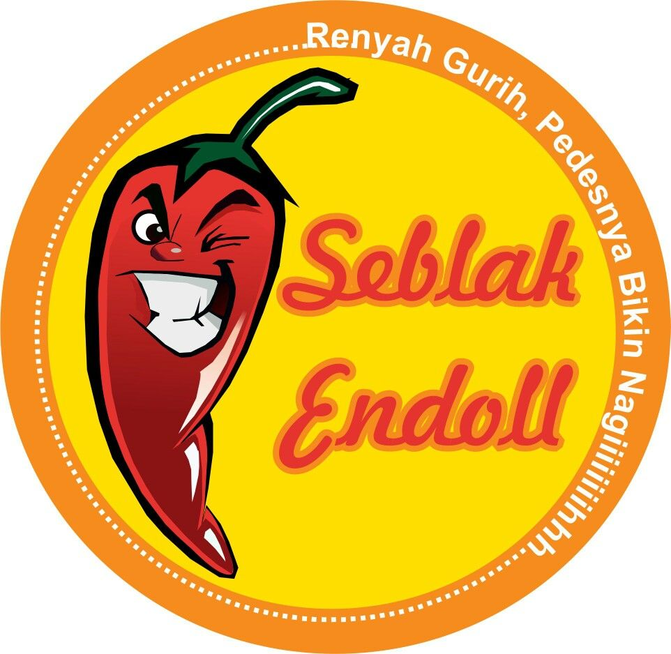 Logo Seblak By Empus Project Desain Logo Desain Logo Bisnis Desain