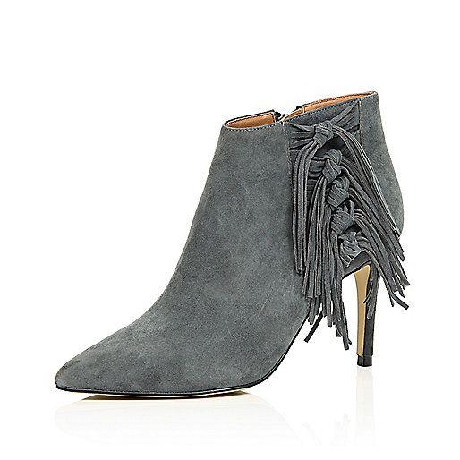 Bottes De Chaussures Noires Tricotés Avec L'île De La Rivière Zip 1R9tHTrUm