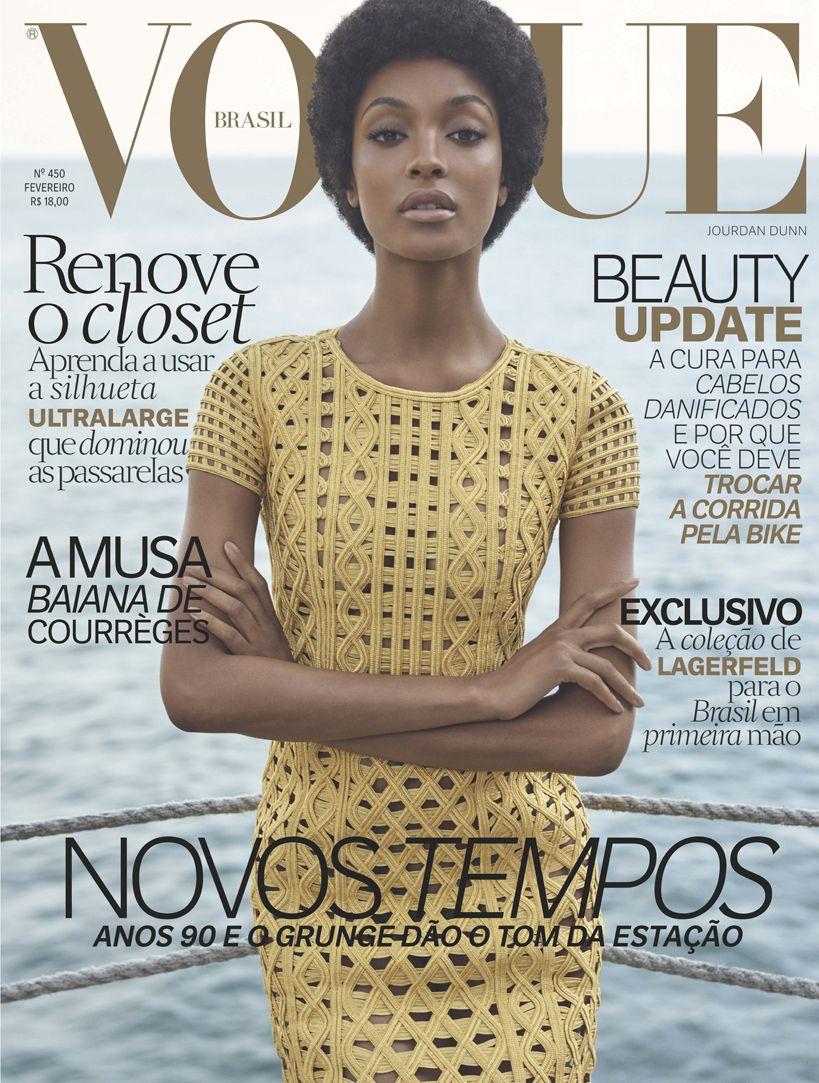 Qual a melhor capa da Vogue Brasil em 2016  Vote!   Jourdan Dunn ... e6638af3b5
