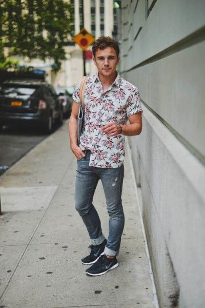 Men's Floral Pattern Style - mens style