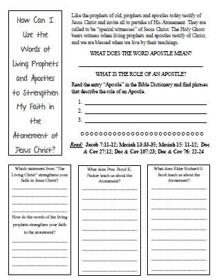 Worksheet Faith Worksheets strengthening my faith in the atonement worksheet god is worksheet