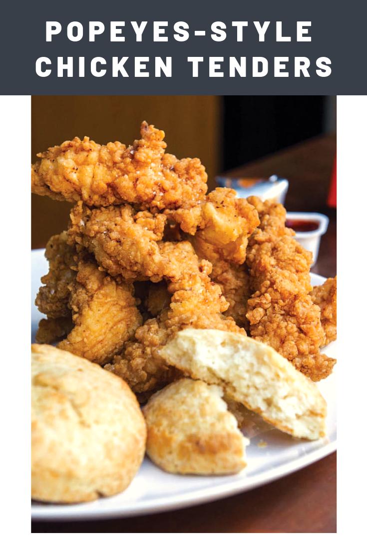 Popeyes-Style Chicken Tenders From 'Fried & True' Recipe
