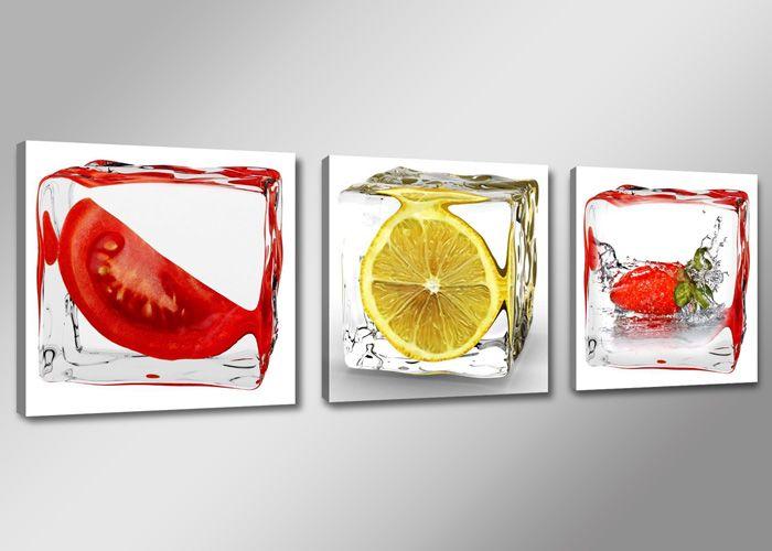 leinwandbilder modern küche kaffee tropfen 4x 30x30cm 6603+ | ebay ... - Leinwandbilder Für Küche