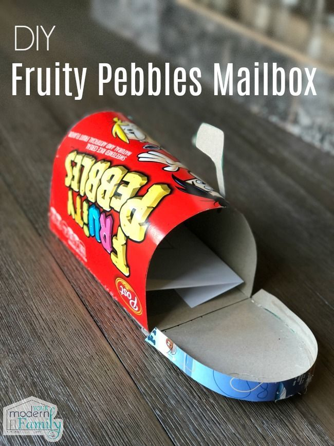 Diy cereal mailbox your modern family diy diycrafts kidscrafts diy cereal mailbox your modern family diy diycrafts kidscrafts solutioingenieria Choice Image