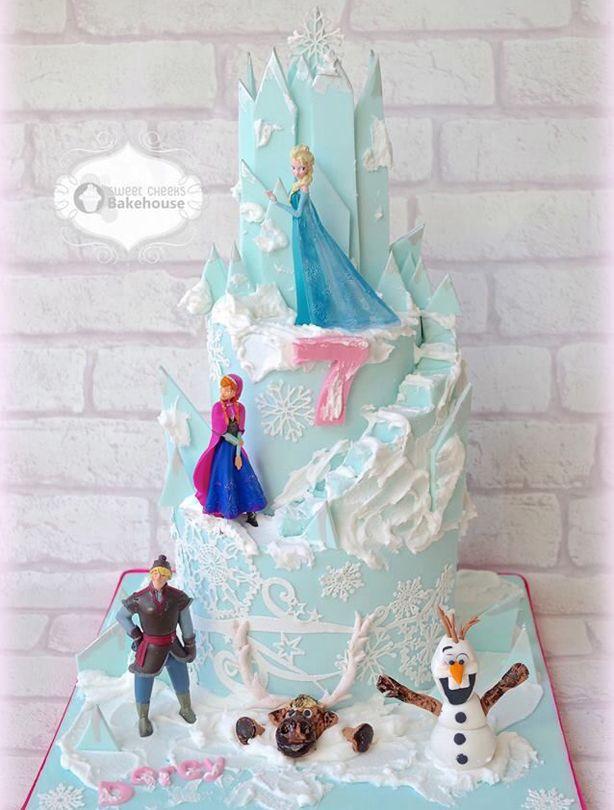 Frozen birthday cake ideas Birthday cakes Frozen birthday and Cake