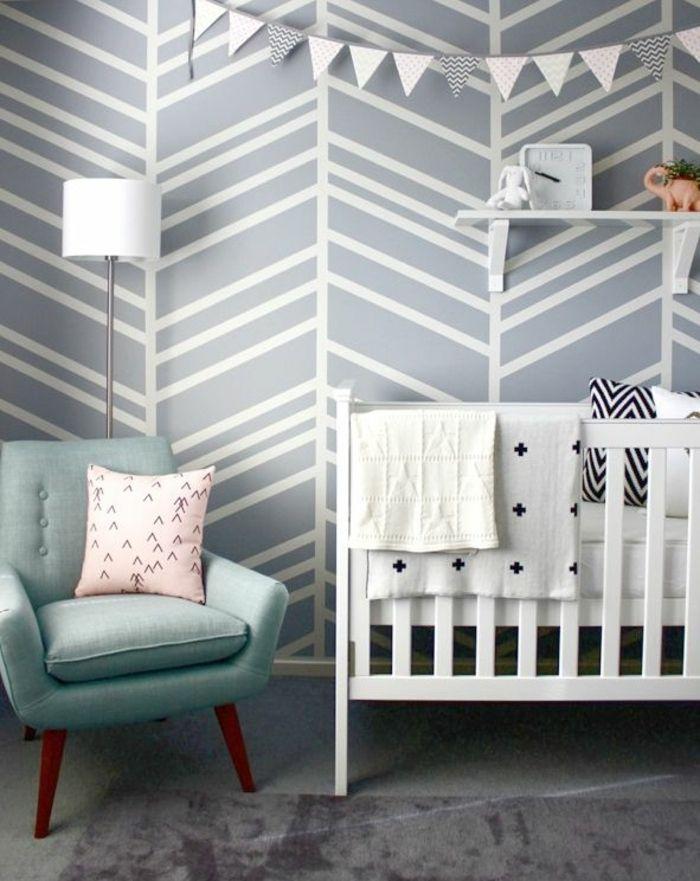 Babyzimmer Gestalten Kinderzimmer Ideen Kinderzimmer Gestalten Wandgestaltung  Kinderzimmer Wandgestaltung