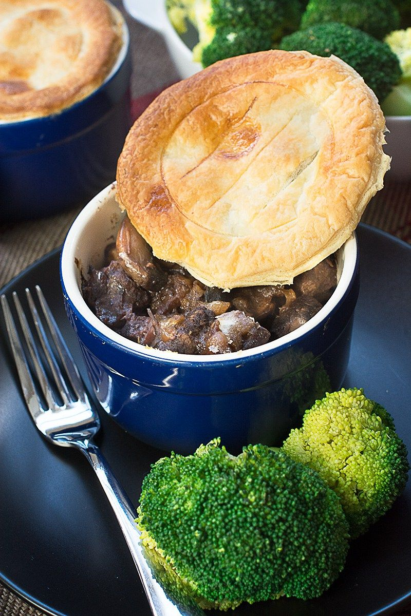 My super easy and really delicious steak and mushroom pie ...
