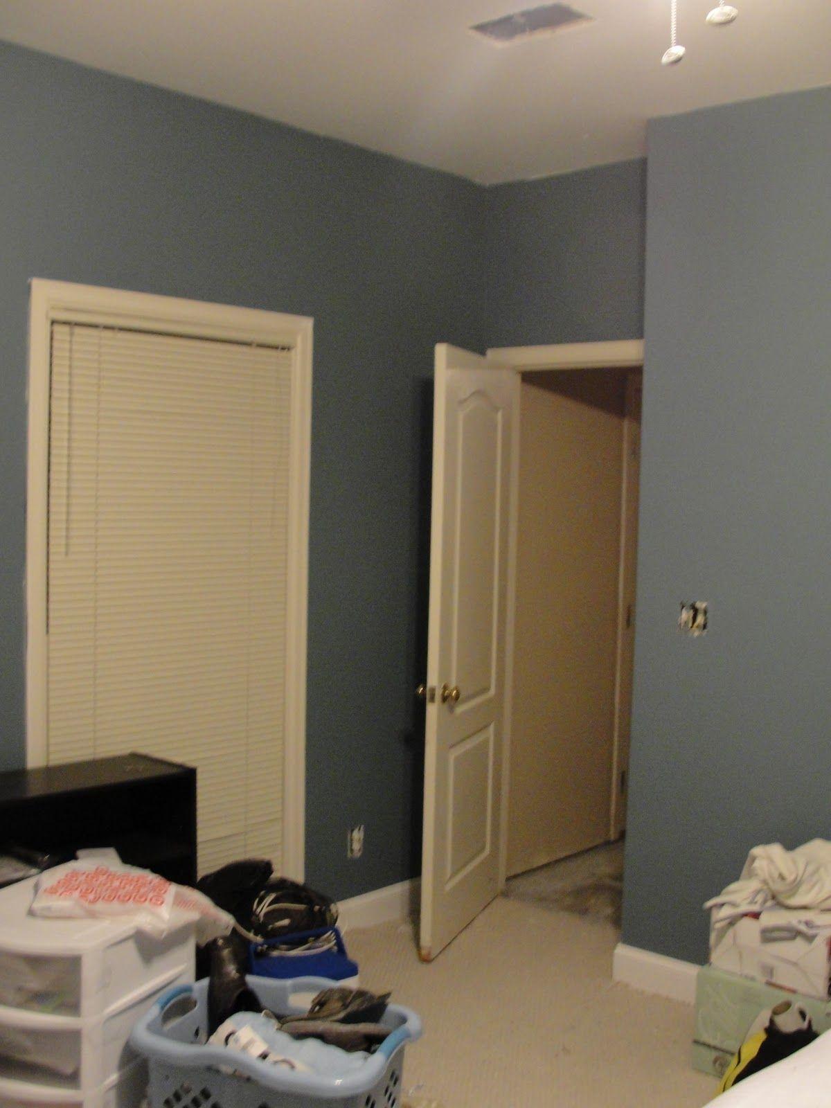 Benjamin Moore Normandy Blue Master Bedroom Echo