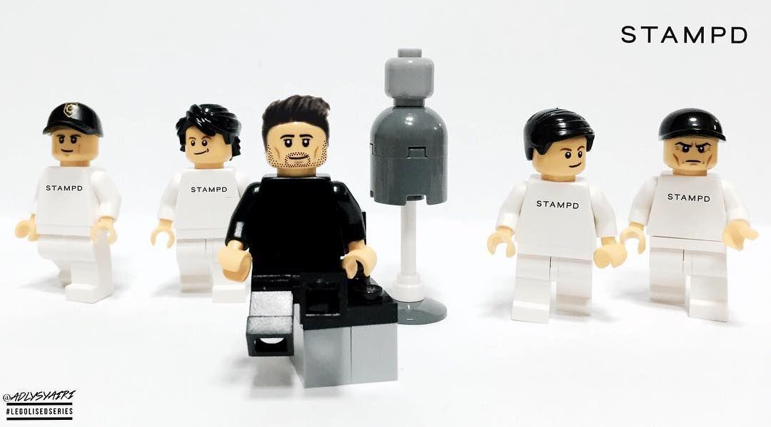 @chrisstamp of @stampdla #Legolised!  #LEGO #Legominati #LegolisedSeries #BrickCentral #BrickNetwork #Legostagram #LegoPhotography #LegoMinifigures #Minifigures #Stampd #StampdLA by adlysyairi