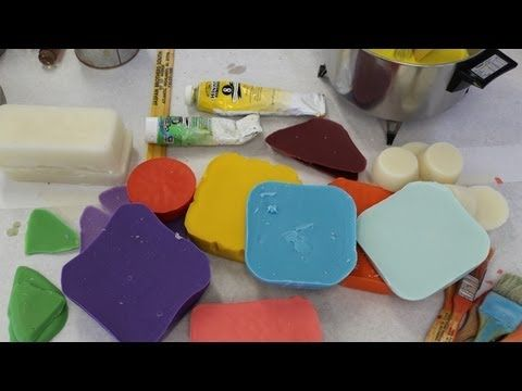 Encaustic workshop part 1 how to make encaustic medium and color by Jon Peters