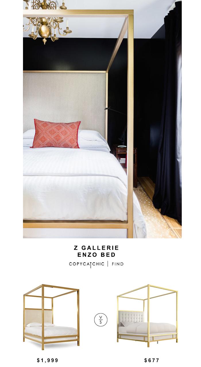 z gallerie enzo bed copycatchic daily finds wohnen