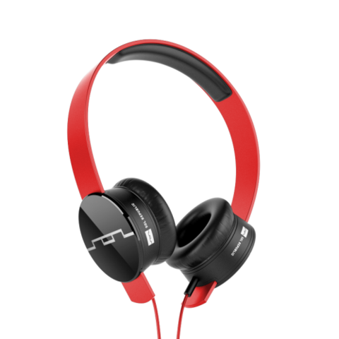 Sol Republic Tracks On-Ear Headphones V8 (Engine Red) @SOL REPUBLIC #hucksley #music #headphones #sanfrancisco
