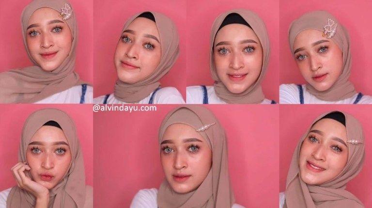 8 Tutorial Hijab Pashmina Simple Dan Mudah Kekinian Pas Untuk Remaja 1 Kursus Hijab Tutorial Hijab Pashmina Remaja