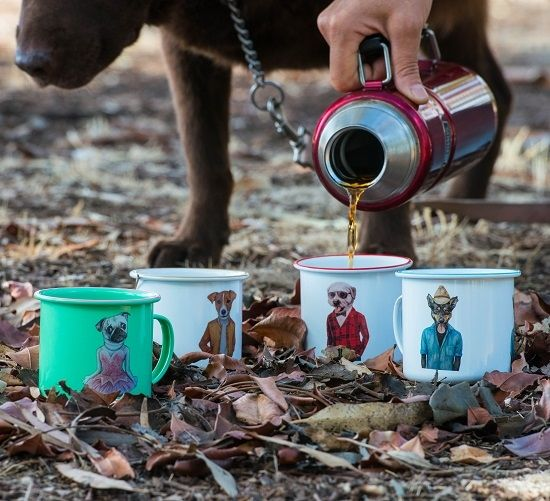 Camping Mugs PAWS Products. Jumpy on the biggest