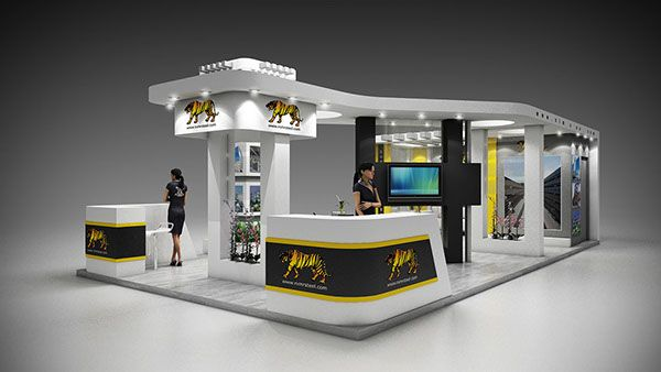 A New Design For Al Nimr Steel Company At Metal Exhibition 2014 Cairo