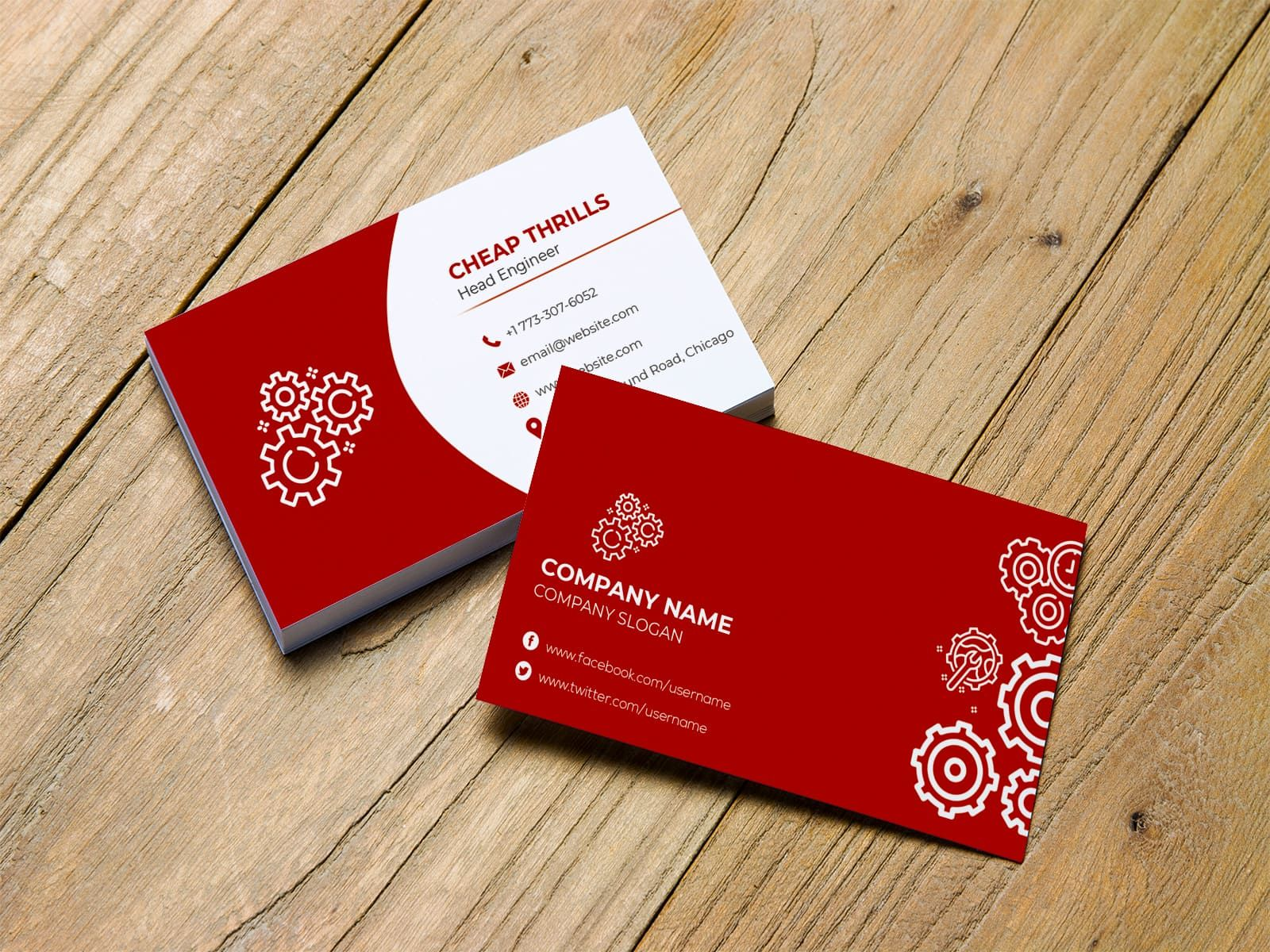 Elite Mechanical Engineer Business Card Business Card Template Design Simple Business Cards Business Cards Collection