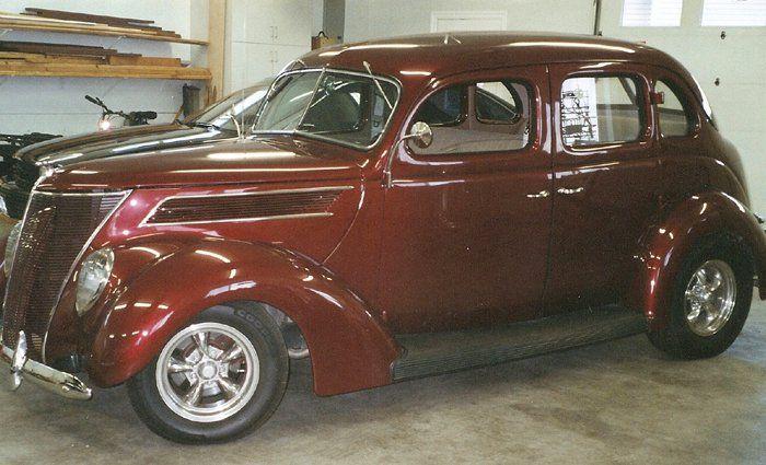 1937 Ford 11t 4 Door Sedan Ford Classic Cars Sedan