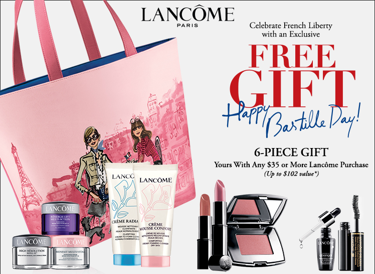 Choose 3 Products Receive One Bag Another 2 Lancome All Free With