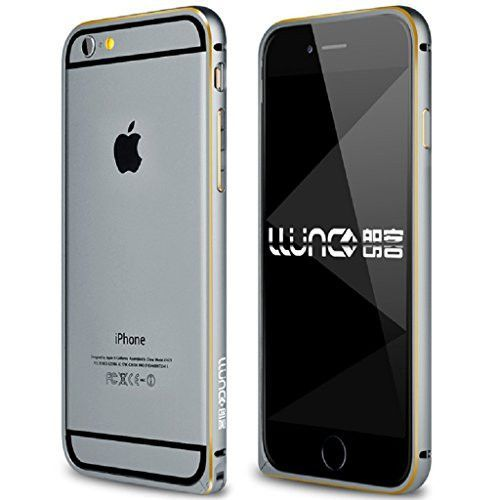 """JNTworld Luxury Metal Alloy Frame Slim Case Skin Cover for iPhone4.7""""/5.5"""""""