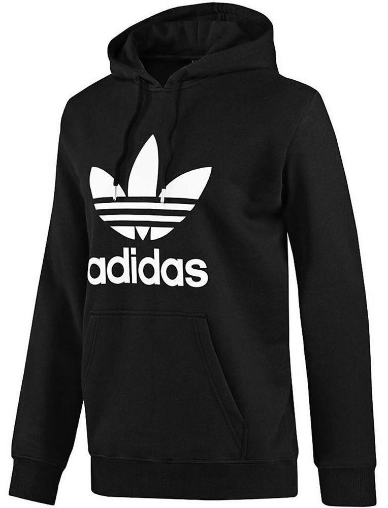Adidas Originals Men s Women s Trefoil Pullover Hoodie Sweatshirt New   adidas  Hoodie 7c15d8dd7c556