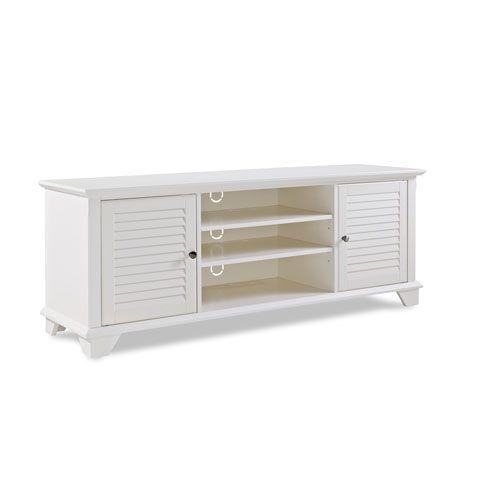 Palmetto White 60 Inch Low Profile Tv Stand Crosley Furniture Tv Cabinets  Tv Stands U0026 Cabi