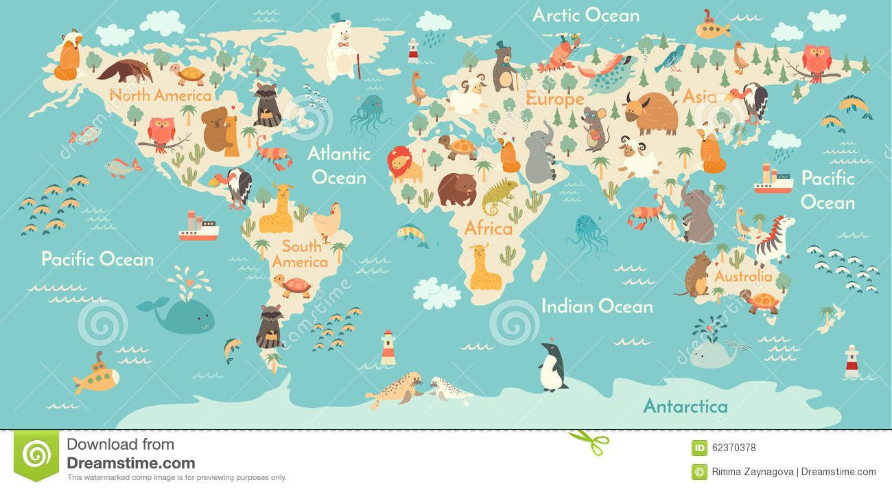 Animals world map download from over 45 million high quality stock animals world map download from over 45 million high quality stock photos images vectors sign up for free today image 62370378 gumiabroncs Gallery