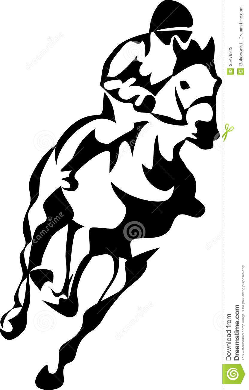 running horse clipart black and white horse racing stylized black rh pinterest co uk horse racing clipart in ai free race horse clipart black and white