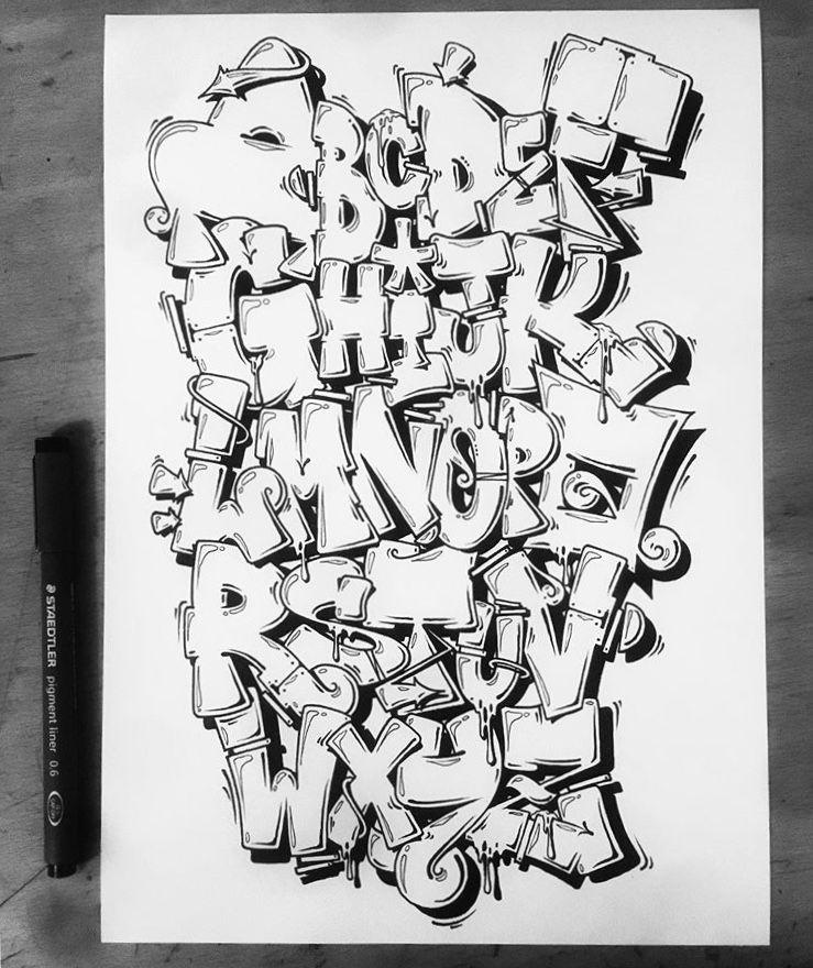 Pin by Grand Hakurou on Alphabet Graffiti alphabet