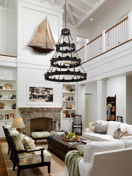 Florida Beach Home Traditional Living Room Orlando Rebecca