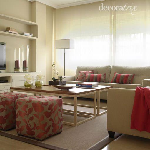 tonos cálidos Ideas Deco Pinterest Tonos calidos, Salón y
