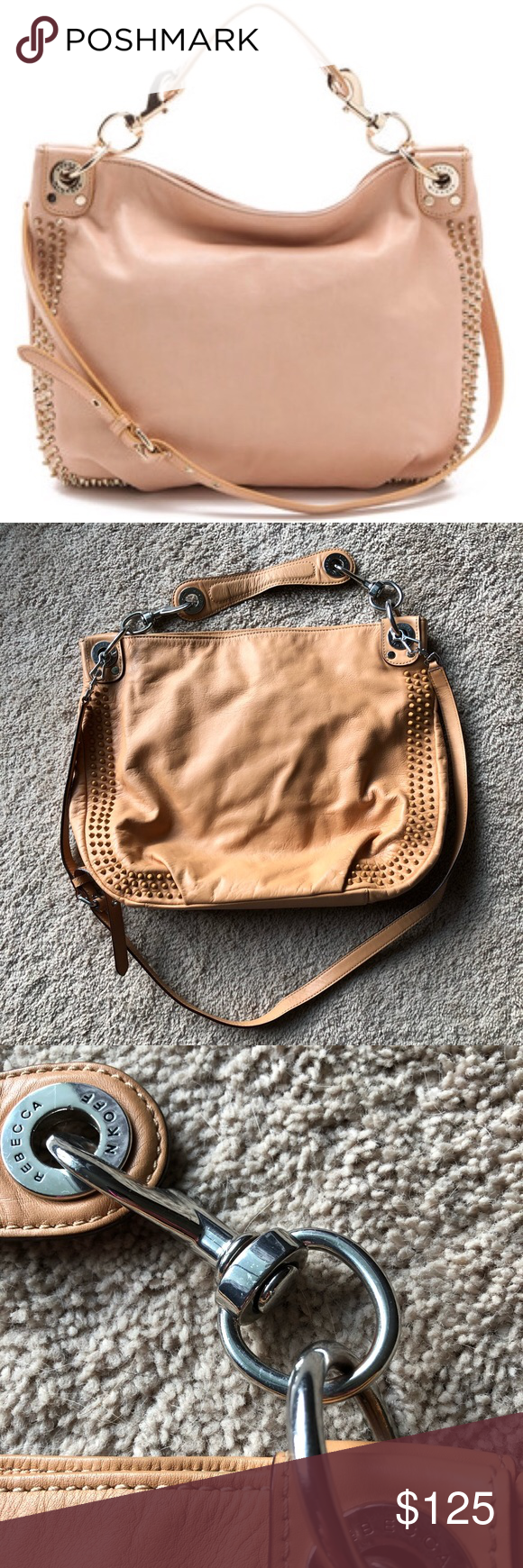 4aca8b429f3 Nude Rebecca Minkoff Purse Great condition! Can be worn on shoulder or as  crossbody. Roomy and clean inside. Rebecca Minkoff Bags